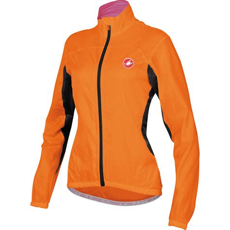 womens cycling jacket wiggle castelli women s velo jacket cycling windproof