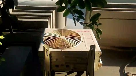 Outdoor Ac Sharp sharp air conditioner outdoor unit
