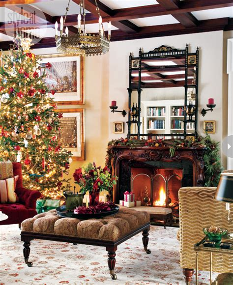 christmas home decor uk interiors regal english christmas home style at home