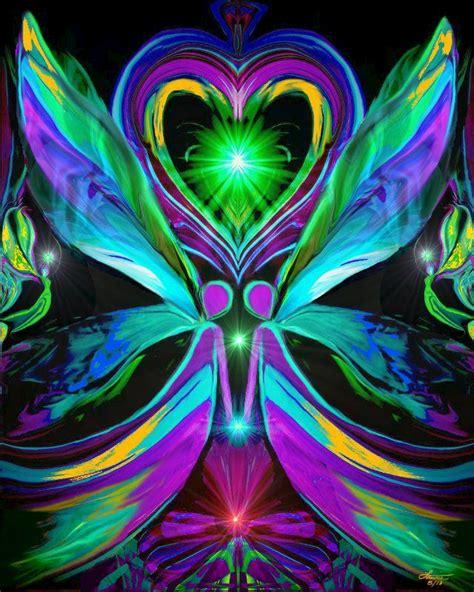twin flames heart chakra art reiki healing energy