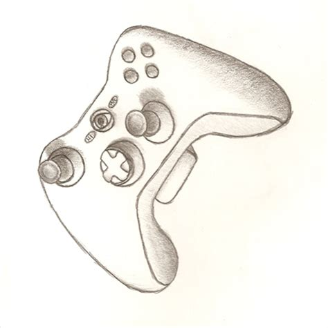 Drawing Xbox by How To Draw Xbox Controller