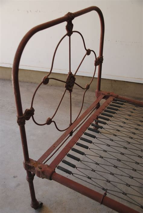antique rod iron beds antique victorian era wrought iron single bed