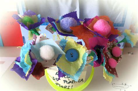 c 243 mo hacer flores de goma eva paso a paso bloghogar com manualidades con plastilina flores flores de primavera