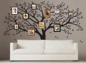 tree wall decal family photo tree wall sticker t46 wall decals family tree by artollo