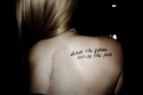 tattoo quotes about your past quotes past and future tattoo quotesgram