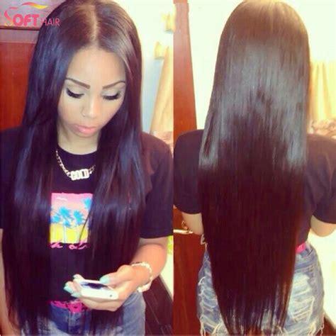 silky long black hair longhairart long healthy hair virgin brazilian glueless full lace wigs silk top long