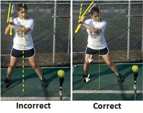 proper batting stance and swing hit tips softball pinterest