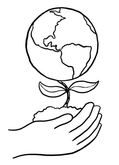imagenes faciles para dibujar del medio ambiente la flor de la tierra dibujalia dibujos para colorear