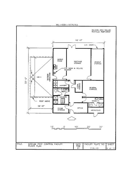 Small Home Floor Plans With Pictures Medium Pest Control Facility Floor Plan