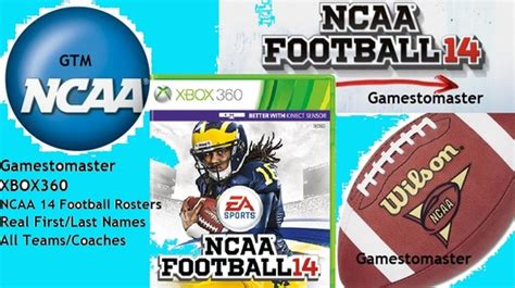 ncaa football 14 roster download ncaa 14 ncaa 17 18 season rosters instant download