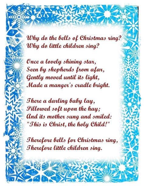 17 best ideas about christmas poems on pinterest poem on