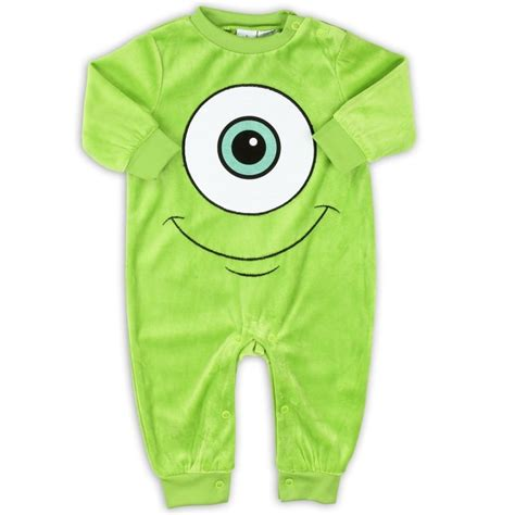 Velour Baby Sleepers by A Soft Green Velour Monsters Inc Infant Sleeper At Fashion 14 95