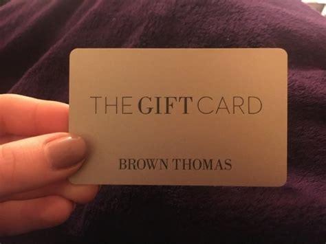 Brown Thomas Gift Card - brown thomas gift card for sale in portobello dublin from waspp