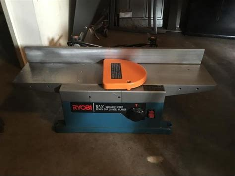 bench top jointer planer ryobi bench top 6 1 8 jointer planer victoria city victoria