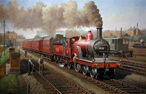 painting trains related keywords suggestions for steam trains paintings
