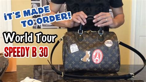 Lv Bandouliere World Tour louis vuitton my lv world tour speedy bandouliere 30 it s