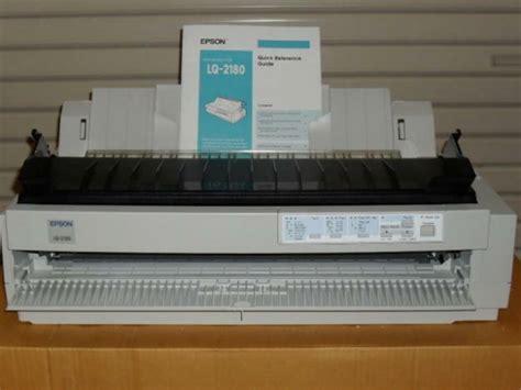 Printer Tahun jual printer epson lq 2180 garansi 1 tahun di lapak toko