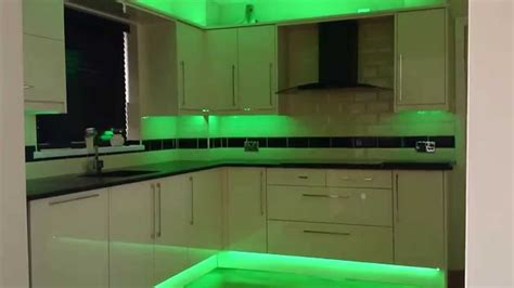 kitchen cabinet led kitchen led strip lights youtube