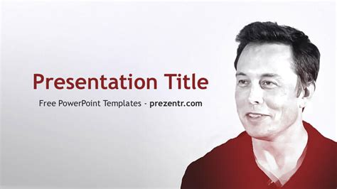 Free Elon Musk Powerpoint Template Prezentr Powerpoint Templates Spacex Powerpoint Template