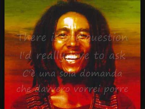 one bob marley testo bob marley one traduzione in italiano wmv