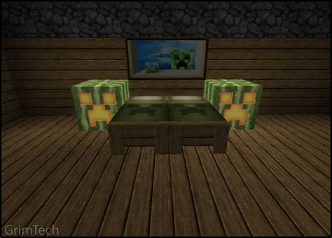 Minecraft Bed Sets Minecraft Bedroom Set By Patrickjr On Deviantart