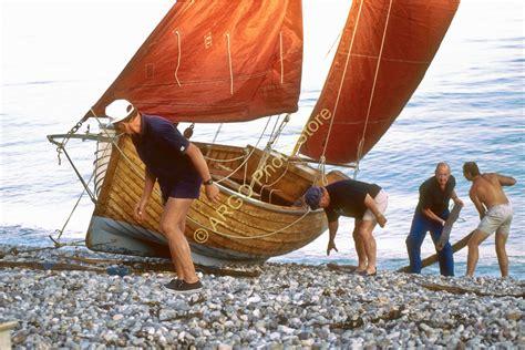 ebay boats devon b173 beer lugger devon classic sail fishing boat photo