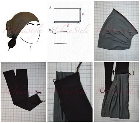 hijab underscarf pattern 40 best headcovering how to s images on pinterest
