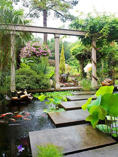wonderful backyards  koi ponds
