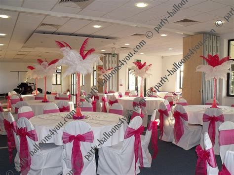 Pink Decorations by Pink And Black Wedding On Pink Weddings Pink Bridesmaids And Pink