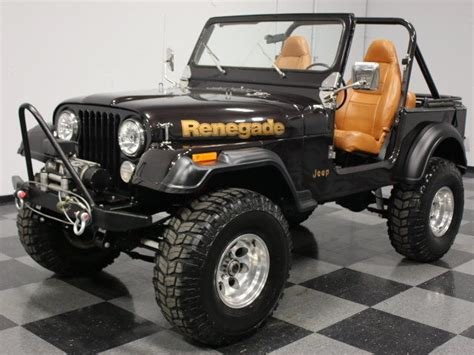 Used Jeep Renegade For Sale 1984 Jeep Cj 7 Renegade For Sale