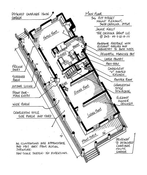 sc floor plans 506 pitt street floor plans the cassina group