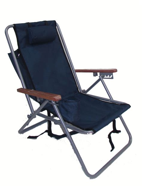 Back Pack Chair hi back steel backpack chair by