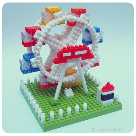 Lego Nano Blocksmicro Blocks 8108a Pooh nanoblock ferris wheel lego awesomeness ferris wheels and wheels