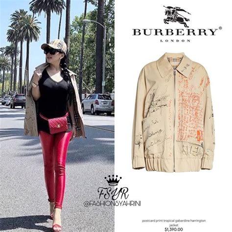 Harga Jaket Harrington Burberry honor fantastis 8 barang fesyen unik dan sederhana