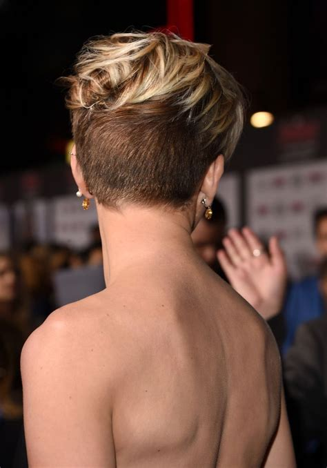 pics of the back of a pixie clipper cut cool back view undercut pixie haircut hairstyle ideas 29