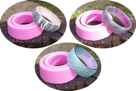 Diy Resin Casting Bangle Mould · How To Make A Resin Bangle · Molding and Resin on Cut Out   Keep