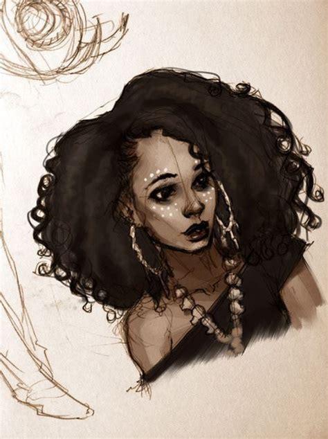 create hair sculptures black nice illustration foxy brown pinterest hair art