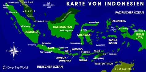 dive the world indonesien karte dive the world karten