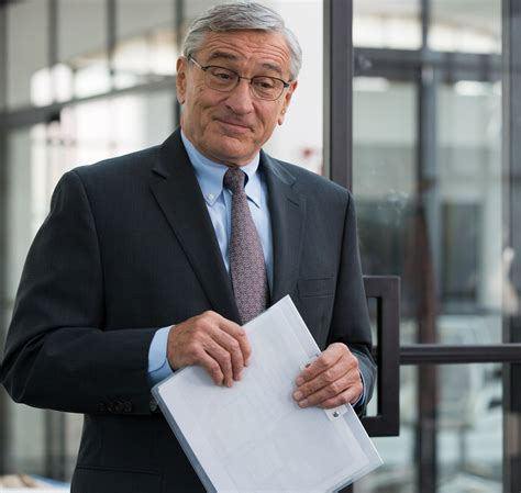 the intern review de niro talks about the intern a sweet in