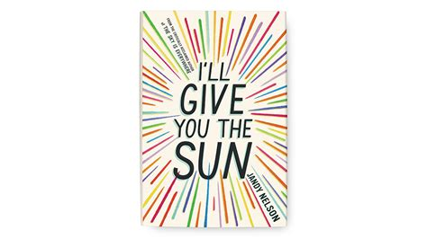 ill give you the 1406326496 i ll give you the sun