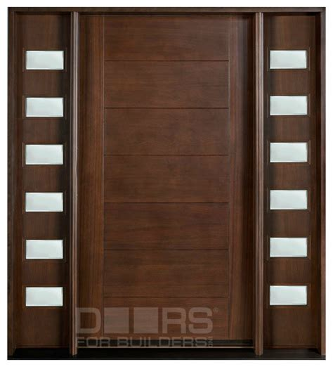 Contemporary Solid Wood Front Doors Modern Collection Custom Solid Wood Doors Modern Front Doors Chicago By Doors For