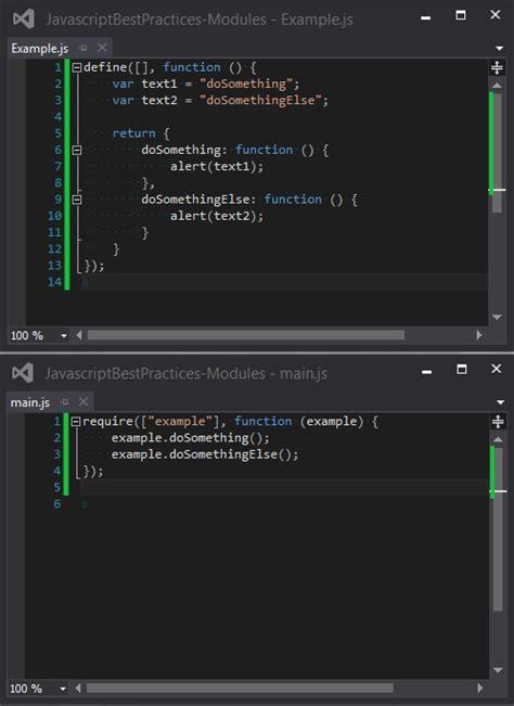 module pattern node js javascript best practices modules exsilio blog