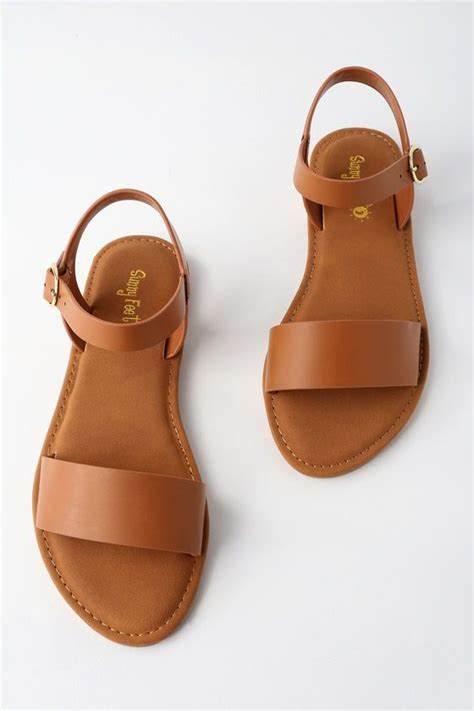 taryn tan flat sandals shoes flats sandals shoes sandals