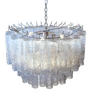 Glass Chandelier Buy The Venini Italian Glass Chandelier