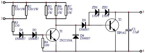 transistor vehicle car transistor ignition circuit schematic