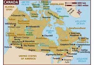 travel map of canada top 10 places of the world top 10 places of canada