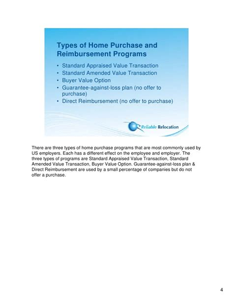 employee home purchase programs