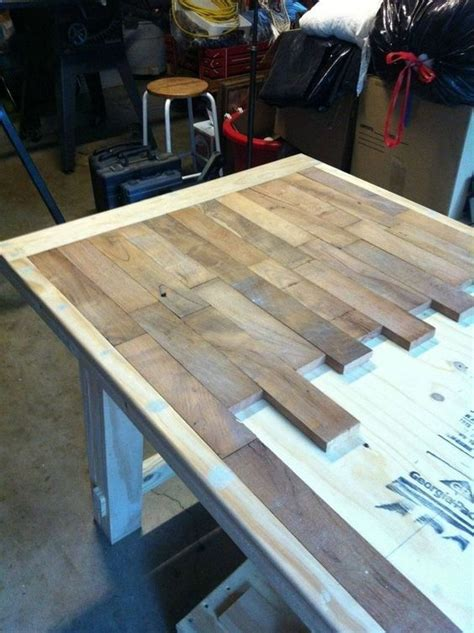 Reclaimed Wood Countertops Diy by Best 25 Pallet Countertop Ideas On Pallet Rustic Furniture And Wood Projects