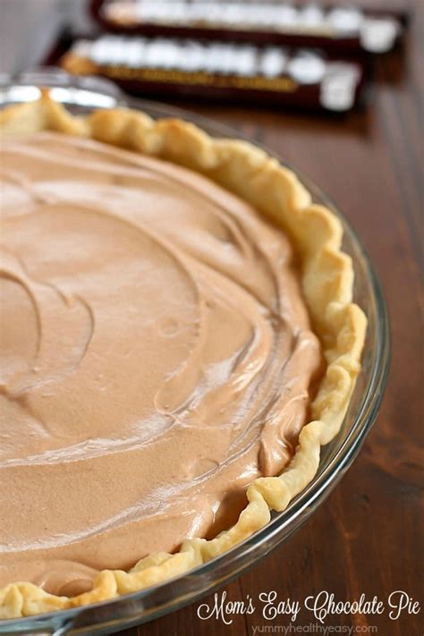 mom s easy chocolate pie recipe a tribute to joan