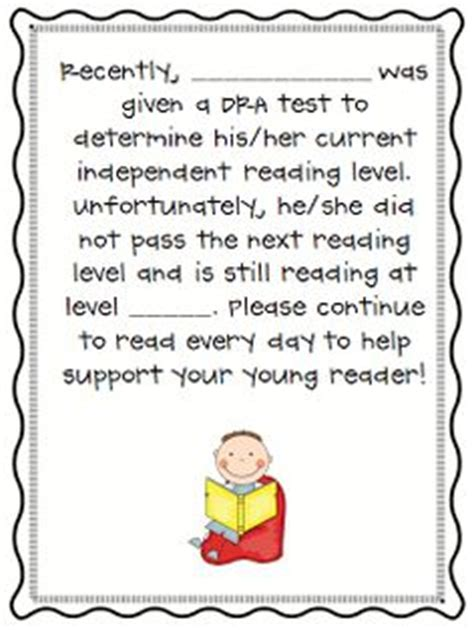 Report Card Letter To Parents 1000 images about reading intervention on